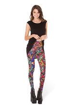 Multicolored Galaxy Digital Printing Leggings Tights Yoga Workout Pants -Lift th