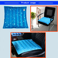 "17.7""×17.7"" Summer Ice Pad Cooling Water Cushion Seat Cover Chair Seat Sofa Mat"