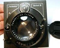 Carl Zeiss Jena Tessar 18cm f4.5 Lens Compur Linhof III Munchen Technika Board