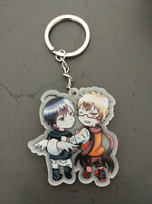 Servamp - Greed Pair - Licht and Lawless Keychain