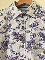 """M&S AUTOGRAPH Men's Cotton Shirt Formal Casual Floral Stripes S M L 16"""" 17"""" NEW"""