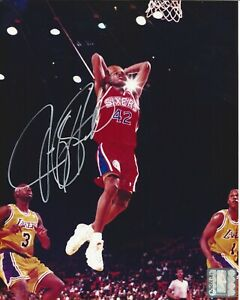 Jerry Stackhouse Autographed 8x10 Philadelphia 76ers Free Shipping B106