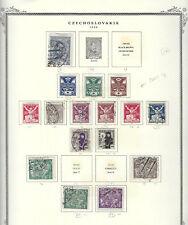 Classic CZECHOSLAVAKIA...# 61//81...1920...16 Diff...M & U