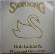Rob Liddell's Piano & Orchestra Swan Song Canada 1977 LP