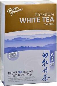 Premium White Tea by Prince of Peace, 100 tea bag