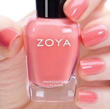 ZOYA ZP839 TULIP pastel salmon cream nail polish ~ PETALS Collection .5 oz NEW