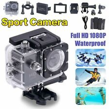 HD 1080p Sports Action Camera Video Helmet Waterproof Cam Bike with Accessories
