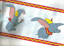 DISNEY'S DUMBO THE  ELEPHANT  WALLPAPER BORDER 41262410B