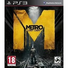 Metro: Last Light (Sony PlayStation 3, 2013) *NEW & SEALED*