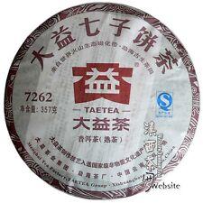 Puer Pu er Tea Pu-erh tea*2012*Menghai Dayi (taetea)*7262*ripe cake*357g