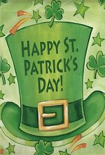 St.Patrick's Day Leprachaun Hat Clover Small Mini Flag