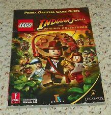 Prima Official Game Guide - LEGO Indiana Jones - The Original Adventure