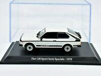 Model Car Fiat 128 Sport NOREV Scale 1/43 diecast modellcar Static Rare