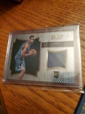 2015-2016 PANINI SELECT. ROOKIE SWATCHES KARL ANTHONY TOWNS. #5