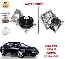 pour BMW M 550 D XD rive F10 2012> sur eau pompe