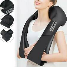 Electric Shiatsu Kneading Neck Shoulder Body Massager With Heated Function  New