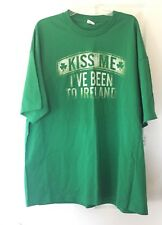 Kiss Me I've Been To Ireland Adult T-Shirt - Men's Size 2XL - St. Patrick's Day