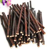 Apple Wood Chew Sticks Twigs for Small Pets Rabbit Hamster Guinea Pig Toy Well