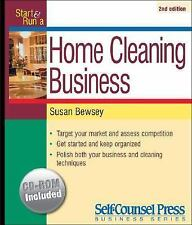 Start and Run a Home Cleaning Business (Start & Run a)-ExLibrary