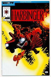 Harbinger # 8 - Valiant Aug 1992, US-Comic, Zustand (0-1)