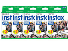 100 Prints Fujifilm Instax Wide Instant Film for 200 210 300 Camera 8/2019