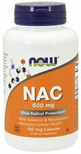 NOW Supplements, NAC (N-Acetyl Cysteine)600 mg with Selenium & Molybdenum, 100