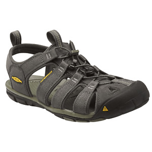 Keen Herren Trekking Sandalen, Trekkingsandalen CLEARWATER CNX, Gr: 44 grau