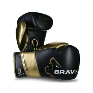 Bravose Titan Grip 2 lace up Premium Quality Real Leather Boxing Gloves