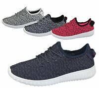 Womens Lace Up Trainer Comfort Sports Casual Fashion Inspire Walking Shoes