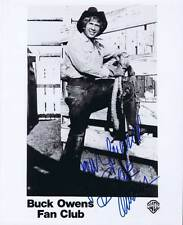 "BUCK OWENS AUTOGRAPHED SIGNED PHOTO (8X10) DECEASED ""YOUR FRIEND"" 8019"