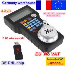 【FR】4 Axis WHB04L CNC MACH3 Wireless USB Electronic Handwheel Controller Pendant
