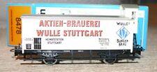 S31 Märklin Hamo 8478 Bierwagen Wulle Bier Stuttgart 4678  D/c