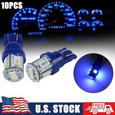 10x For Ford F 150 F 250 T10 168 194 Led Instrument Panel Dash Lights Blue Bulbs Fits 1997 Ford F 150
