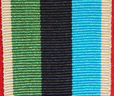 AUSTRALIAN ARMY NAVY AIR FORCE OPERATIONAL SERVICE MEDAL RIBBON MIDDLE EAST