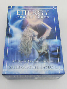 Energy Oracle Cards : A 53-Card Deck and Guidebook by Sandra Anne Taylor (2013)
