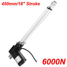 "12V DC Linear Actuator 6000N 18"" Stroke Electric Motor for Medical Auto Car Lift"
