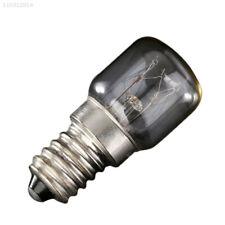7424 1E44 25W E14 Oven Lamp Globe Light Refrigerator Bulb 220-240V 300°C 400lLM