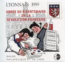 TIMBRE FRANCE BLOC FEUILLET CNEP N° 11 ** SALON DE LYON / GUIGNOL / COTE 50 €
