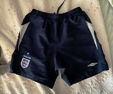 ENGLAND National Team Umbro Shorts soccer football - Size Men Medium