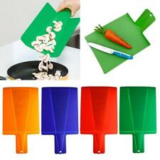 Cook Folding Plastic Cutting Board Chopping Cutting Board Set Holder
