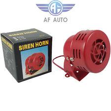 Red Electric Car Truck Motorcycle Driven Air Raid Alarm Horn Alarm 12V Loud 50s