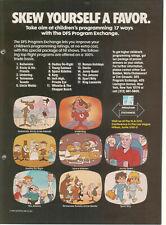 Bullwinkle Rocky Dudley Do Right Underdog Jonny Quest Jetsons Waldo 1983 Ad