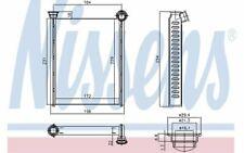 NISSENS Car Heaters 72987 - Discount Car Parts