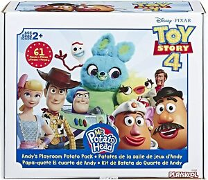 Disney Toy Story Andy's Playroom Mr. & Mrs. Potato Head Pack 61 Pieces *IN STOCK