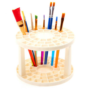 Paint Brush Holder Stand Collapsible Tools Watercolor Pen Rack Brush Storage AU