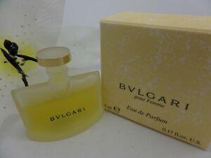 BVLGARI pour Femme WOMEN edp MINI Miniature 5ml PERFUME Original Fragrance BOXED