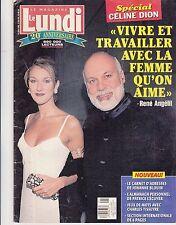 "Celine Dion ""Rare"" 'Lundi Magazine June 1996 Mega Rare With Rene"