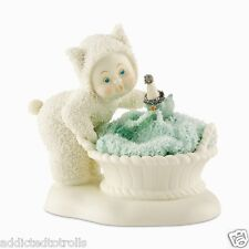 """Department 56 SNOWBUNNIES """"Unraveling"""" Figurine Porcelain NEW IN BOX"""