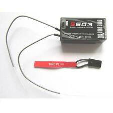 New Mini RC Pro S603 6 channel Full Range 2.4Ghz Receiver For FSFLY Series SS