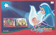 Christmas - 2010 Stamp Souvenir sheet - Sri Lanka, Ceylon